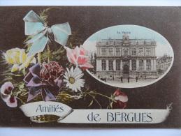 BERGUES AMITIES DE BERGUES LA MAIRIE  Carte Colorisée - Bergues
