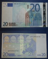 ITALIA ITALY 20 EURO 2002 DUISENBERG SERIE S 05109040123 J04G1 CIRC, - 20 Euro