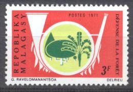 Madagascar YT N°492 Défense De La Foret Neuf/charnière * - Madagascar (1960-...)