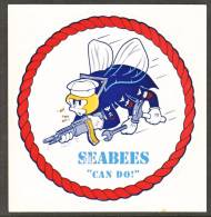 U.S.  NAVY SEABEES Decal    ** - Stickers