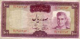 IRAN : 100 Rials 1971 (vf) - Iran