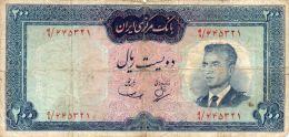 IRAN : 200 Rials 1965 (fine) - Iran