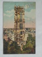 PARIS  ( 75 )  TOUR SAINT JACQUES CPA COULEUR - Arrondissement: 04