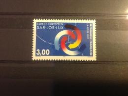 Frankrijk - Postfris, Euregio Sar-Lot-Lux 1997 - France
