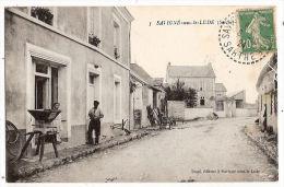 CPA Savigne Sous Le Lude 72 Sarthe - France