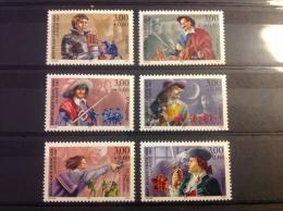 Frankrijk - Postfris, Complete Serie, Franse Avonturenromans 1997 - France