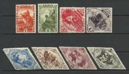 TANNU TUVA 1934 Michel 41 - 48 A Einheimische Bilder * - Touva