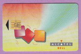 Télécarte Belgique 1 °°  Alcatel   Bell   Payphones  -  Verso  A   ***  NEUVE   LUXE - Belgien