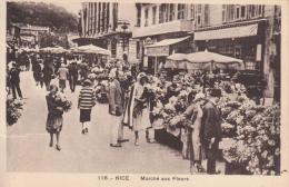 06 - Nice - Marché Aux Fleurs - Edit. Gilletta N°116 - Markets, Festivals