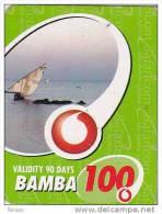 Kenya, Bamba 100, Special / Small Card, Boat, Expiry : 07-03-2011. - Kenya