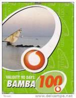 Kenya, Bamba 100, Special / Small Card, Boat, Expiry : 16-03-2011. - Kenya