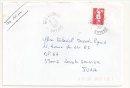 MARIANNE DU BICENTENAIRE OBLITERATION KOUROU GUYANE - 1989-96 Marianne Du Bicentenaire