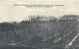AQUITAINE - 33 - GIRONDE - SAINT SULPICE CAMEYRAC - Château LAGRAULA - Propriété De La Firme EVON Et Cie - Other Municipalities