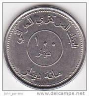 Y] Pièce De 100 Dinars Coin Irak Iraq 2004 Carte Map - Iraq