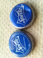 Lote 2 Chapas Kronkorken Caps Tappi Sprite. Coca Cola. España - Chapas Y Tapas