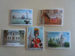 België Belgique 1990 Toeristische Uitgifte Série Touristique 2377-2381 MNH ** - Belgique