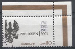 ALLEMAGNE Mi.nr.2162 Jahrestag Der Gründung Des..... 2001 OBLITÉRÉS-USED-GEBRUIKT - [7] République Fédérale