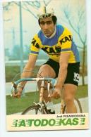 José PESARRODONA - Equipe Cycliste I A TODO KAS -  2 Scans - Cyclisme