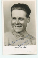 Ernest NEUHARD - Autographe Manuscrit  - Dédicace - Photo Intan Match - 2 Scans - Cyclisme