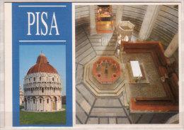 Pisa , Piazza Dei Miracoli , Battistero ( Sec. XII - XIV ) - Kirchen U. Kathedralen