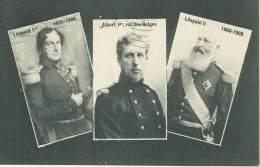 Leopold Ier Albert Ier Roi Des Belges Leopold II Portraits Famille Royale Belge 1909 - Königshäuser