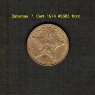 BAHAMAS    1  CENT  1974  (KM # 59) - Bahamas