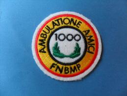 ECUSSON  FEUTRE  BRODE   /  MARCHE / AMBULATIONE AMICI   1000   F.N.B.M.P - Ecussons Tissu