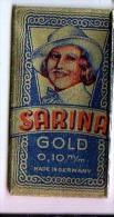RAZOR BLADE RASIERKLINGE SARINA GOLD  0,10 M/m - Razor Blades