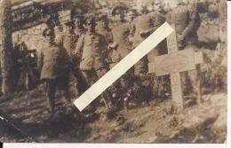 Vosges Alsace Hartsmannwillerkopf Viel Armand Cimetière Allemand  Carte Photo  WWI Ww1 14-18 1.wk 1914-1918 Poilus - Guerra, Militari