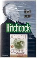 ALFRED HITCHCOCK CASSETTE 73mm VHS NEUVE SOUS BLISTER NOIR ET BLANC AGENT SECRET VERSION FRANCAISE EDITION ATLAS SYLVIA - Policiers
