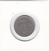 1 FRANC Baudouin I  1953 FL - 1951-1993: Baudouin I