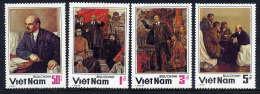 VIETNAM 1984 Lenin Death Anniversary Set Of 4  MNH  / (*).. Sc. 1452-55 - Vietnam