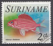SURINAM Mi.nr: 723 Tropenfische 1976 OBLITÉRÉS-USED-GEBRUIKT - Suriname