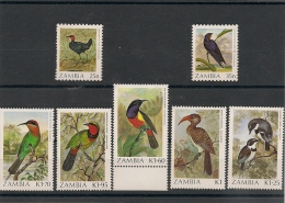 ZAMBIE N° Y/T : 376/382** Côte : 22,00 - Zambie (1965-...)
