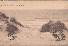 De Panne - La Panne - Les Dunes (animation) - De Panne