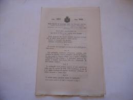 GUERRA ITALO TURCA MEDAGLIA COMMEMORATIVA  REGIO DECRETO 1912 - Decreti & Leggi