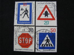 BRD   665 - 668   O - [7] République Fédérale