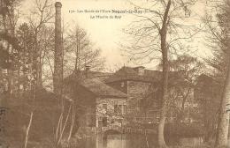 NOGENT-le-ROI  ( Eure-et-Loir ) -  LE MOULIN DU ROY -  LES BORDS DE L'EURE -  1909 - Nogent Le Roi