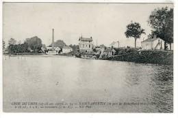 37- SAINT-AVERTIN- LA  CRUE  DU  CHER  N753 - Saint-Avertin