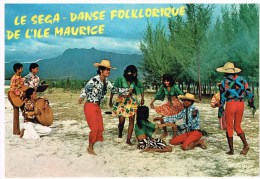 Carte Postale Maurice - Le Sega - Danse Folklorique - Maurice
