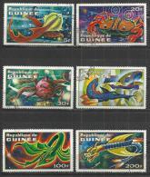 GUINEA 1972 - FICTION ANIMALS - CPL. SET - USED OBLITERE GESTEMPELT USADO - Stamps