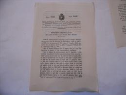 SCUOLE MILITARI AGGIUNTE AL REGOLAMENTO DELL'ORGANICO  REGIO DECRETO 1912 - Décrets & Lois