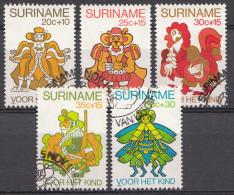 SURINAM Mi.nr: 918-922 Für Das Kind: Märchen 1980 OBLITÉRÉS-USED-GEBRUIKT - Suriname