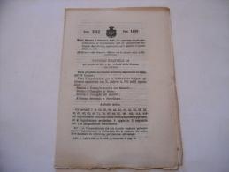 COLTIVAZIONE INDIGENA DEL TABACCO MODIFICA REGOLAMENTO REGIO DECRETO 1912 - Décrets & Lois
