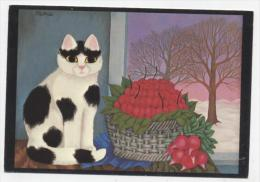 """L 16     ANIMAUX    """"  CHAT  /  CAT   /     """"  CPM / CPSM  10 X 15 - Chats"""