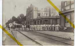 51 MARNE EPERNAY  VOIE FERREE MERCIER DRAGONS CARTE PHOTO   MILITARIA 1914/1918 - Epernay