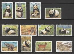 Bhutan - 1990 Endangered Mammals MNH__(TH-9854) - Bhutan