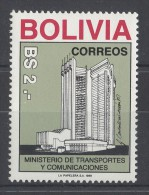 Bolivia - 1988 Ministry Of Transport MNH__(TH-7625) - Bolivia