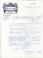 05.HAUTES ALPES.GAP.HOTEL DE LA GARE.GASTON FERRAND PROPRIETAIRE EN FACE LA GARE. - Unclassified