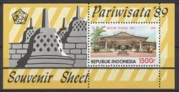 Indonesia - 1989 Tourism Block MNH__(TH-1165) - Indonesia